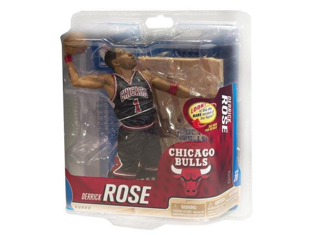 Mcfarlane NBA Derrick Rose Chicago Bulls Bronze Variant Black Uniform