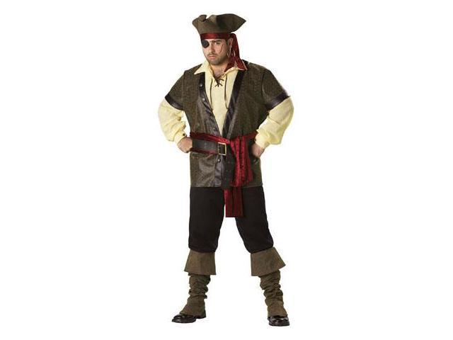 Rustic Pirate Costume Adult XX-Large