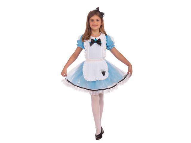 Alice In Wonderland Alice Child Fairy Tale Costume Small