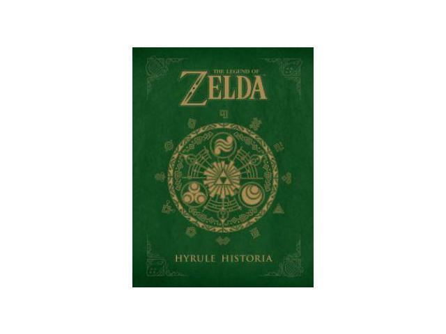 Legend Of Zelda Hyrule Historia Hardcover Book