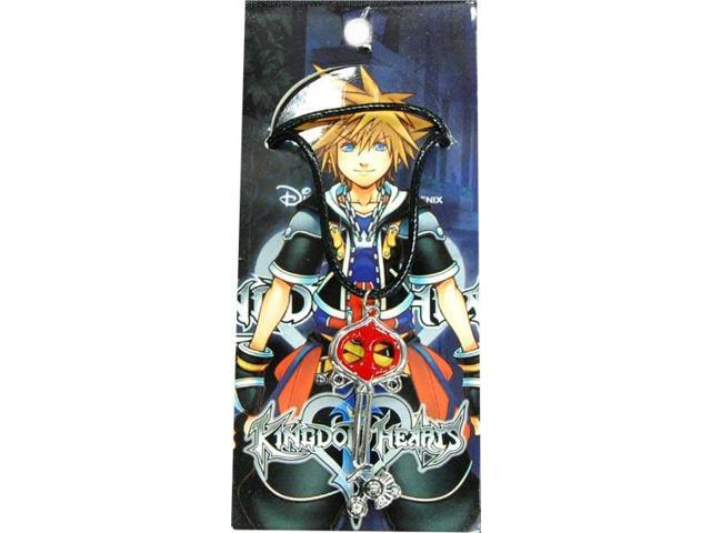 Disney Kingdom Hearts Sora Key Blade Weapon Pendant Necklace