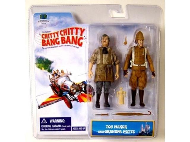 Chitty Chitty Bang Bang Two Pack Figure Toy Maker & Grandpa