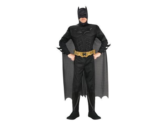 Batman Deluxe Muscle Chest Costume Adult X-Large 44-46