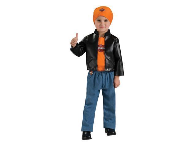 Harley Davidson Boy Baby Costume 6-12 Months