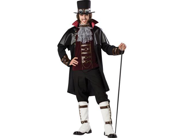 Steampunk Vampire Elite Deluxe Adult Costume Large
