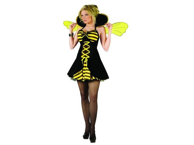 Queen Bee Adult Costume Medium/Large 10-14