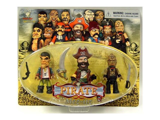 Pirate Mez Itz Figure Pack Of 3 Set B