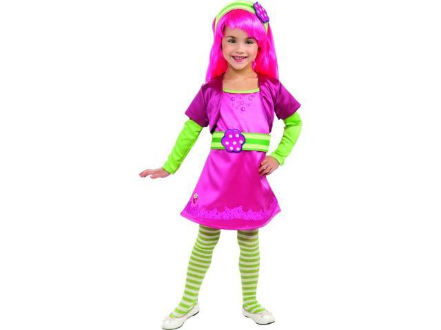 Strawberry Shortcake Deluxe Raspberry Tart Costume Child Toddler 2T-4T