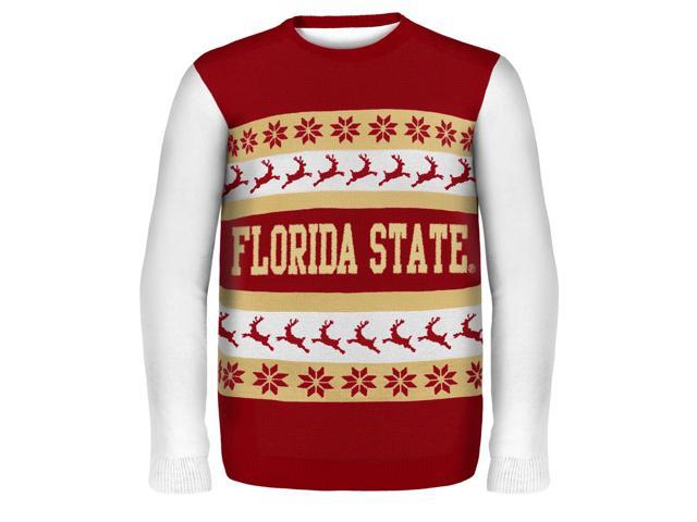 Florida State Wordmark NCAA Ugly Sweater X-Large