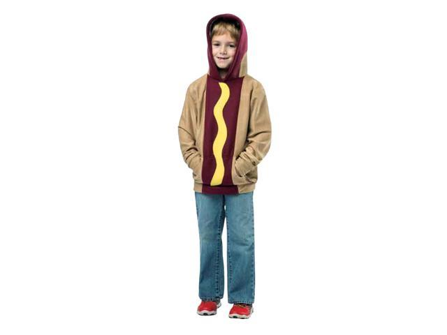 Hot Dog Hoodie Child Costume 4-6X