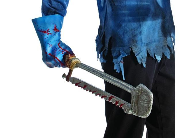 Zombie Mutilated Saw Costume Accessory Weapon