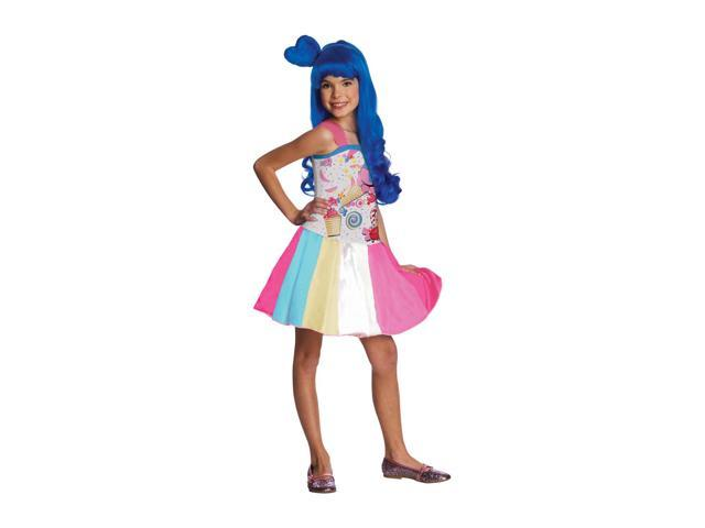 Katy Perry Candy Girl Dress Costume Child Small 4-6