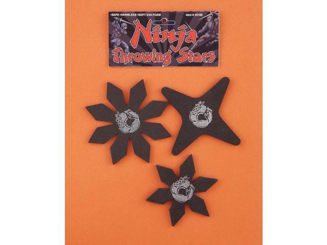 Ninja Costume Stars Set Of 3