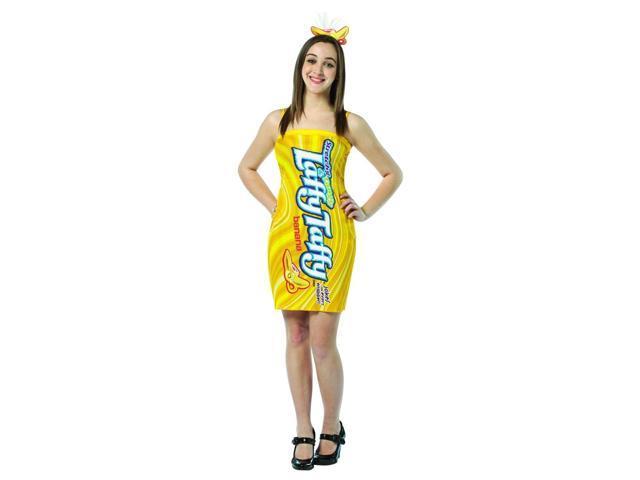 Nestle Laffy Taffy Banana Costume Mini Dress Teen Teen 13-16