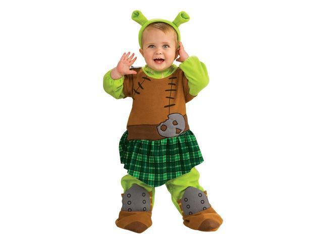 Shrek 4 Fiona Warrior Romper Costume Baby 6-12 Months