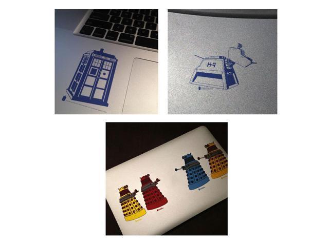 Doctor Who Vinyl Sticker Set #1: Tardis, K9, Dalek