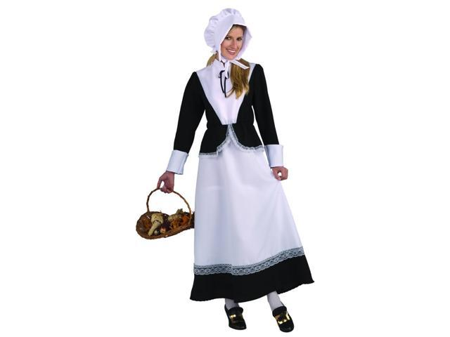 Thanksgiving Pilgrim Woman Adult Costume Standard