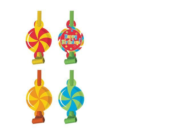Party Blowouts 8 Pack Sugar Buzz Blowout