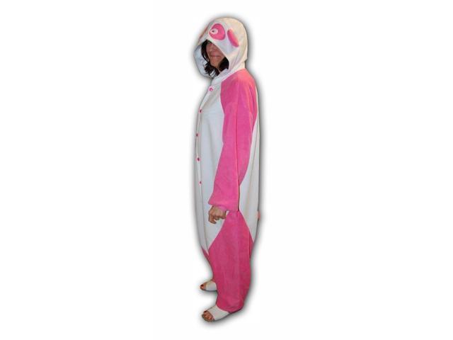 Pink Panda Kigurumi Cushzilla Animal Adult Anime Costume Pajamas Standard