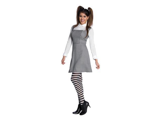 Frankenweenie Elsa Van Helsing Dress & Tights Costume Adult One Size Fits Most