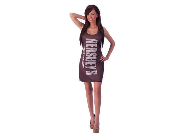 Hershey's Milk Chocolate Bar Costume Adult Tank Dress Standard One Size