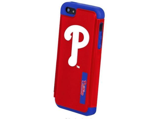 Philadelphia Phillies MLB Dual Hybrid 2-Piece Apple For iPhone 4 Cover