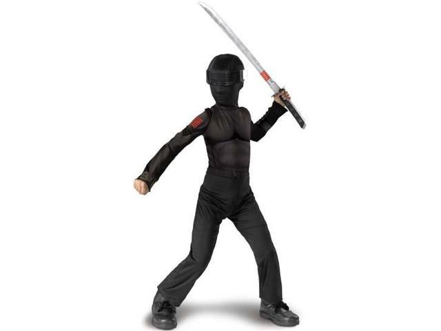 GI Joe Movie Snake Eyes Classic Child Costume 4-6