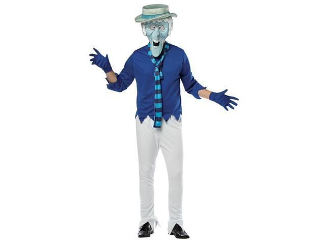 The Year Without Santa Clause Mr. Snow Miser Costume Adult One Size Fits Most