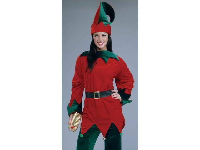 Santa's Helper Christmas Elf Costume Adult One Size Fits Most