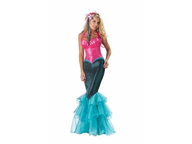 Mermaid Adult Costume Large