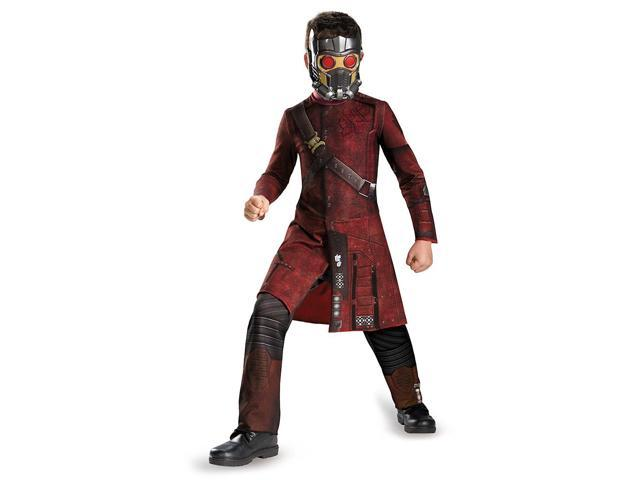 Guardians Of The Galaxy Marvel Classic Star-Lord Child Costume 4-6