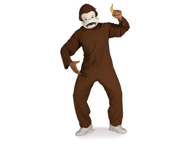 Curious George Adult Costume Standard