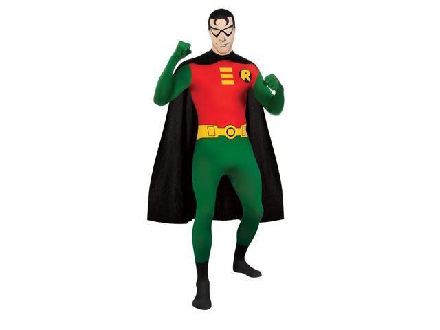 Batman Robin 2nd Skin Jumpsuit Costume Adult Medium 38-40