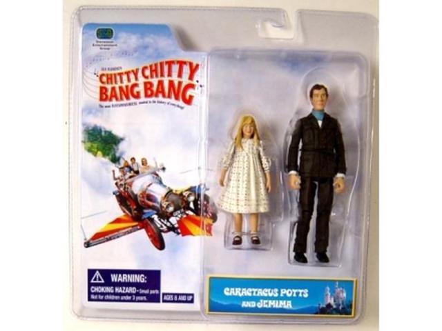 Chitty Chitty Bang Bang Two Pack Figure Caractacus Potts & Jemima