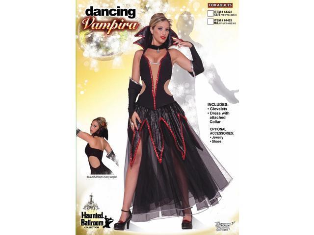 Haunted Ballroom Sexy Vampira Costume Adult Small