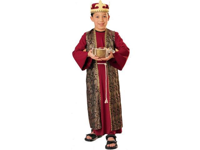 Three Wise Men Gaspar Deluxe Costume Child Medium