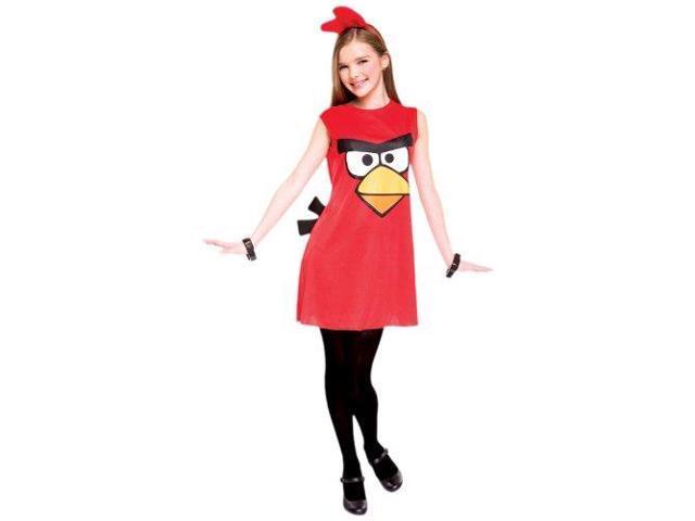 Angry Bird Red Bird Child/Tween Costume Tween 14-16