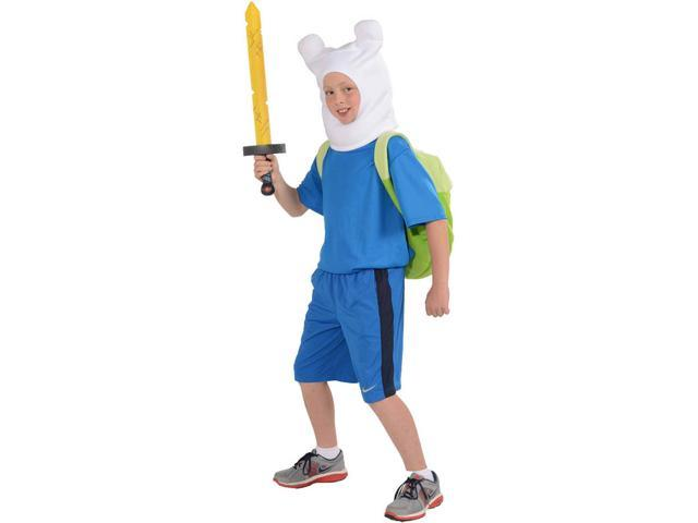 Adventure Time Deluxe Finn Costume Child X-Large