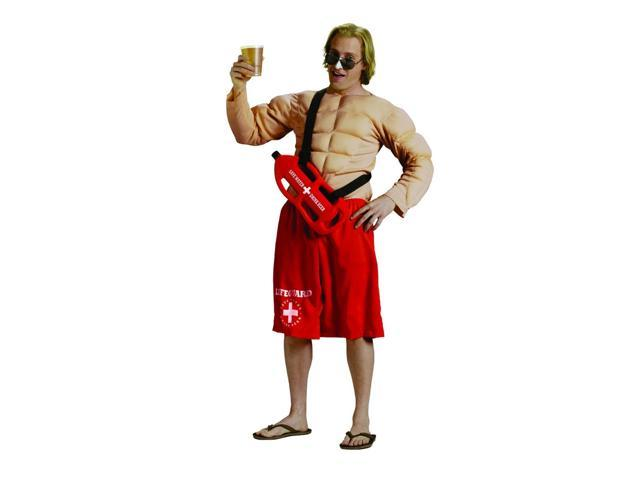 Off Duty Lifeguard Costume Adult One Size Fits Most