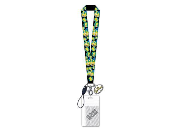 The Simpsons Family Lanyard with Soft Dangle