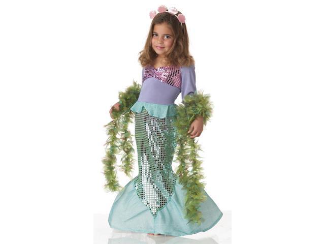 Lil' Mermaid Costume Child Toddler Toddler