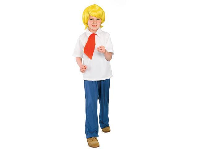 Scooby Doo Fred Child Costume Medium