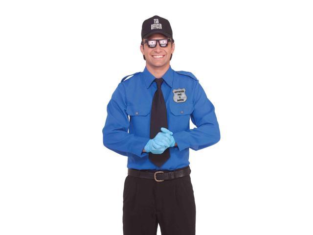 Tsa Transportation Security Officer Funny Adult Costume X-Large