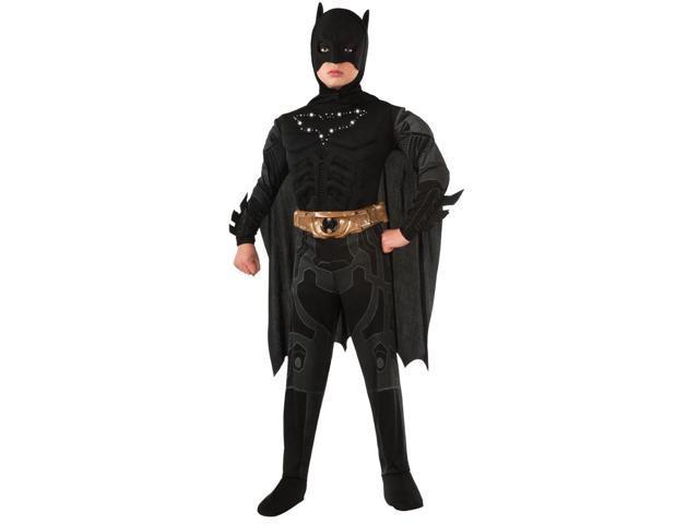 Batman Light Up Emblem Muscle Chest Costume Child Medium 8-10