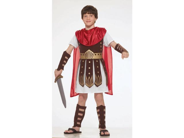 Roman Warrior Soldier Costume Child Large