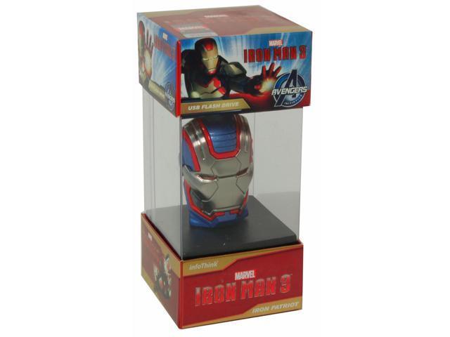 Iron Man 3 Iron Patriot 8 GB USB Flash Drive