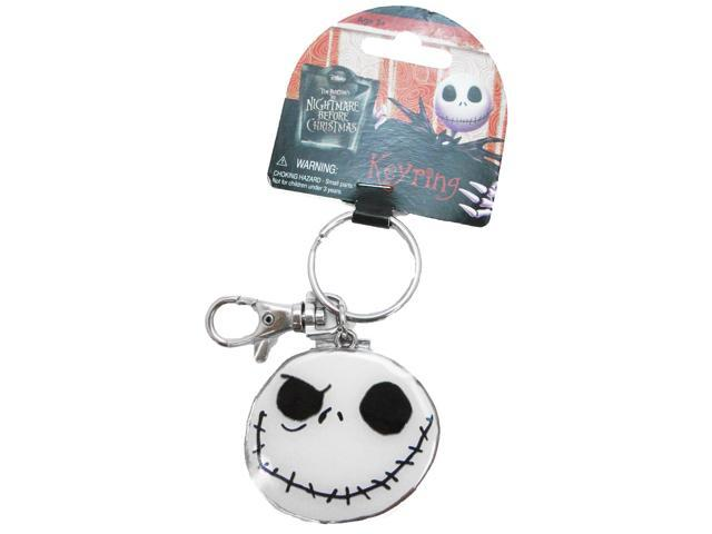 The Nightmare Before Christmas Pewter Key Ring: