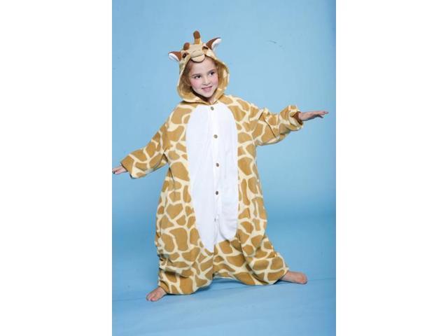 Giraffe Kigurumi Cushzilla Animal Anime Costume Pajamas Child 2T-6 2T-6