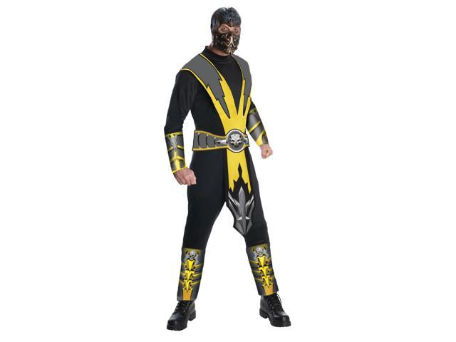 Mortal Kombat Scorpion Costume Adult X-Large 44-46