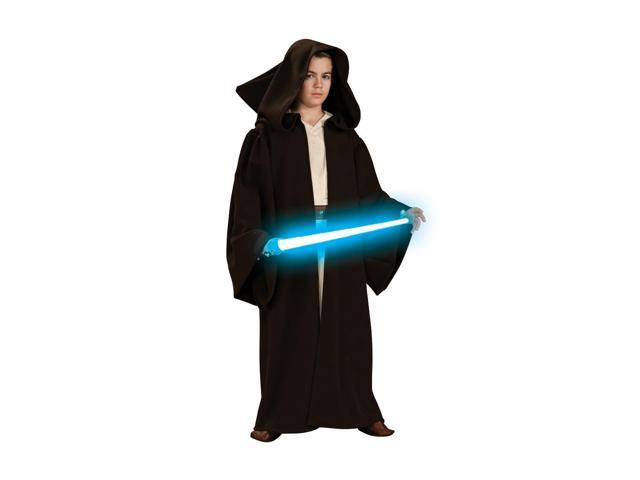 Star Wars Super Deluxe Jedi Robe Child Costume Large